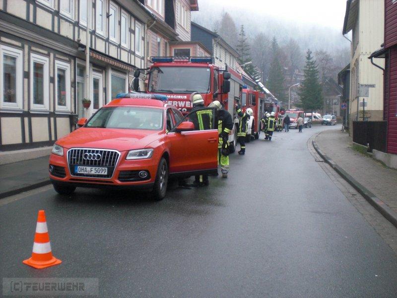 Brandeinsatz vom 22.11.2013  |  (C) Freiwillige Feuerwehr Bergstadt Bad Grund (Harz) (2013)